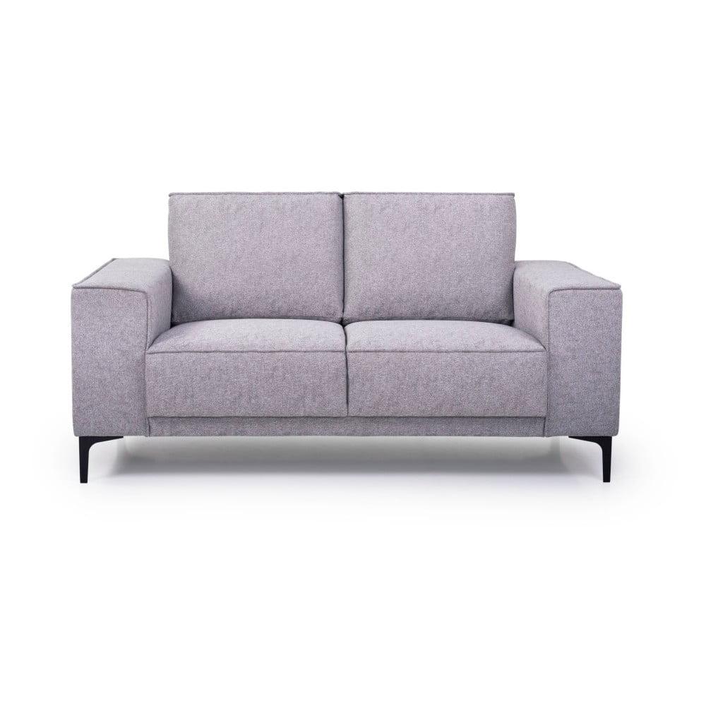 Jasnoszara sofa Scandic Copenhagen, 164 cm