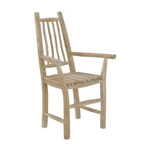 Drewniane krzesło Arly