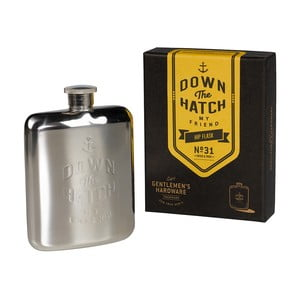 Piersiówka Brass Gentlemen's Hardware, 175 ml