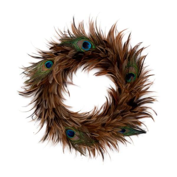 Wieniec dekoracyjny Clayre & Eef Feathers