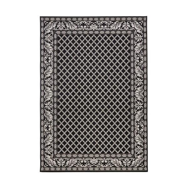 Dywan nadający się na zewnątrz Royal 115x165 cm, czarny