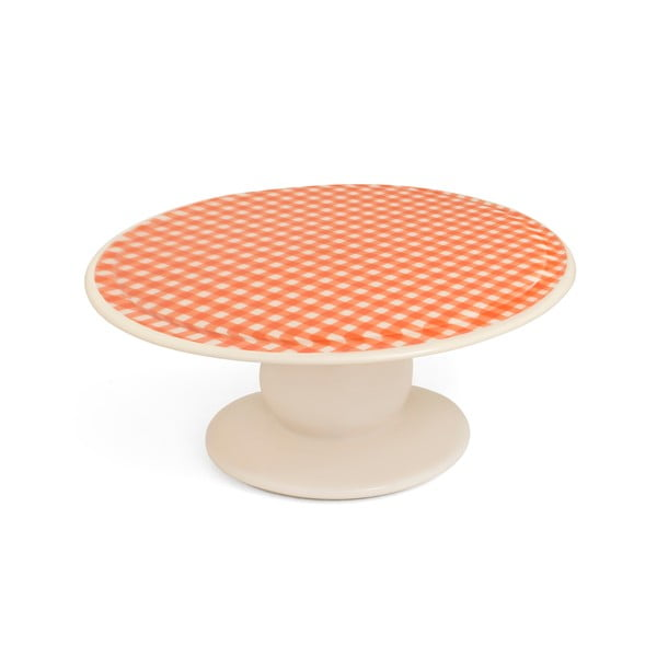 Patera na tort Gingham Orange