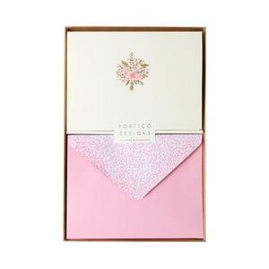 Zestaw   10 kart okolicznościowych Portico Designs FOIL Spring Bouquet