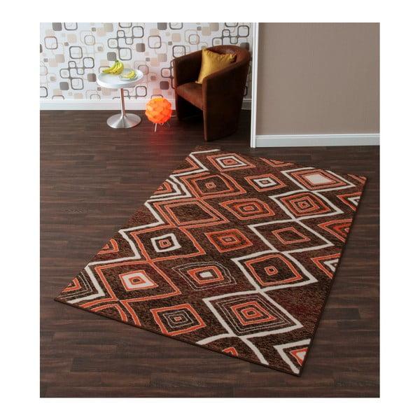 Dywan Hanse Home Prime Pile Chaos Brown, 80 x 200 cm