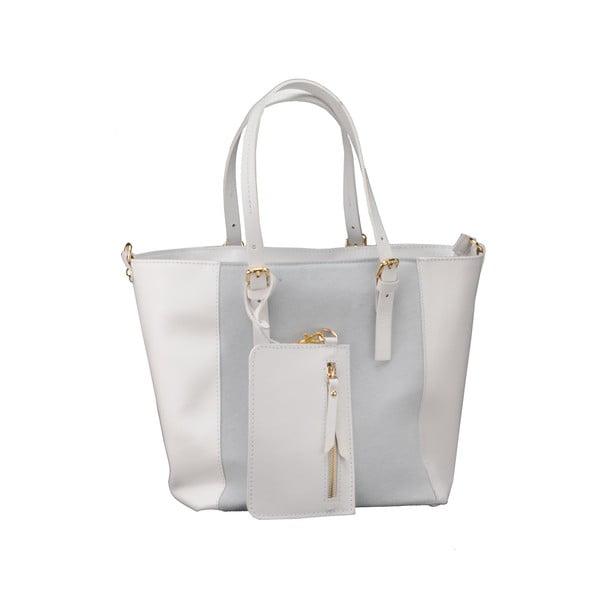 Skórzana torebka Gomeisa, biała