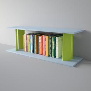 Półka Replay 110x39 cm, zielono-niebieska