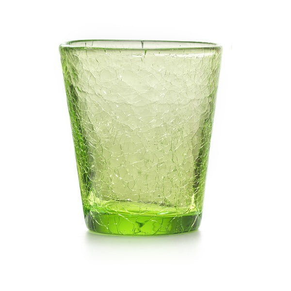 Zestaw 6 szt. szklanek Fade Ice, zielone