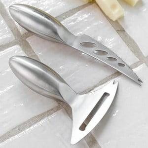 Zestaw 2 noży do sera Steel Function