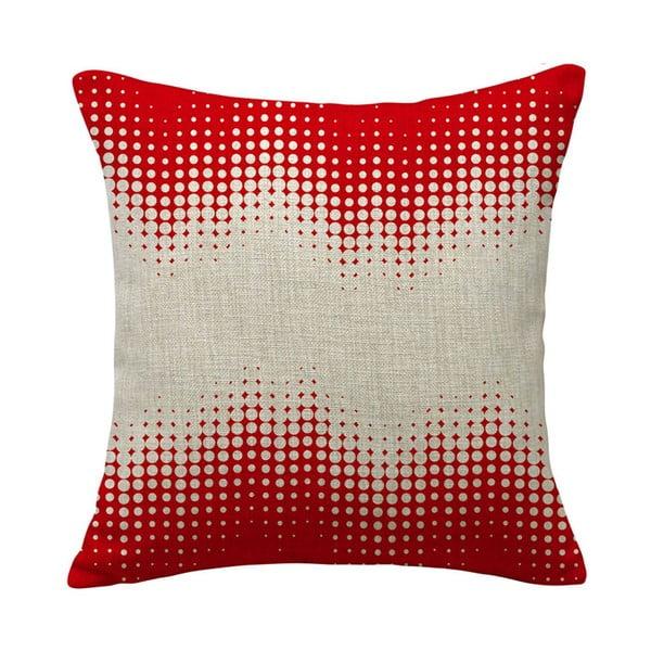 Poszewka na poduszkę Expansion Red, 45x45 cm