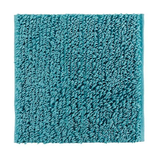 Dywanik łazienkowy Talin 60x60 cm, turkusowy