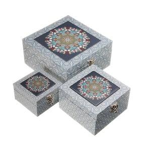 Zestaw 3 pudełek Unimasa Mosaic