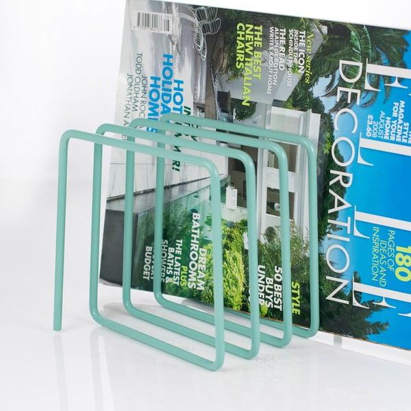 Niebieski gazetnik Magazine Rack