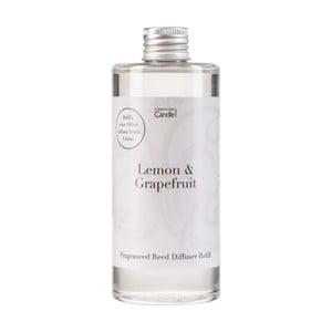 Zapas do dyfuzora o zapachu cytrusów Copenhagen Candles Lemon & Grapefruit Home Collection, 300 ml
