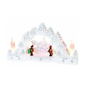 Dekoracja świetlna Merry, biała