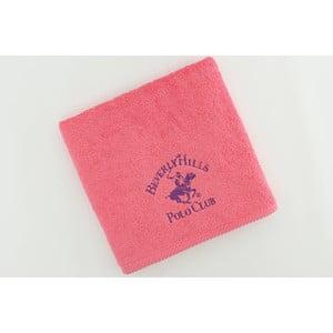 Ręcznik bawełniany BHPC 50x100 cm, różowy
