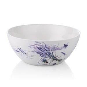 Porcelanowa miska do sałatek Lawenda, 25 cm
