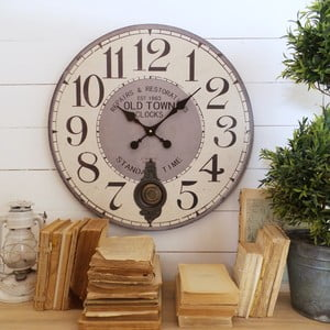 Zegar ścienny Orchidea Old Town
