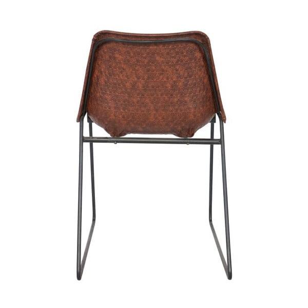 Zestaw 2 krzeseł Stainly Brown