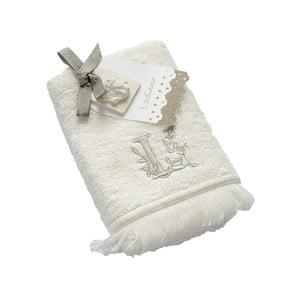 Ręcznik z inicjałem L, 30x50 cm