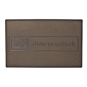 Slide to unlock, dywanik przed drzwi