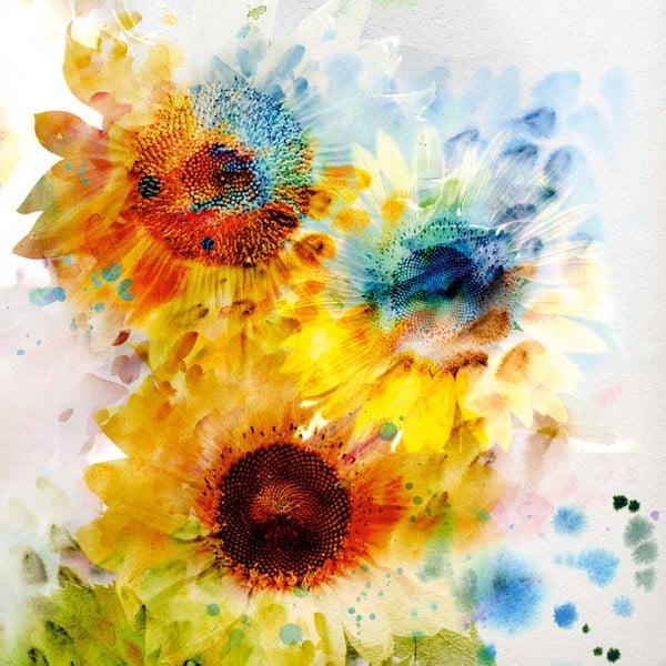 Obraz Kwiaty, 60x60 cm