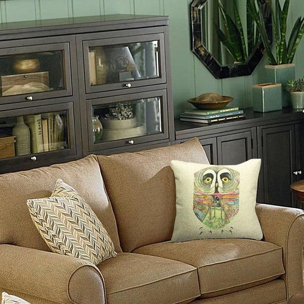 Poszewka na poduszkę Sometimes, 45x45 cm