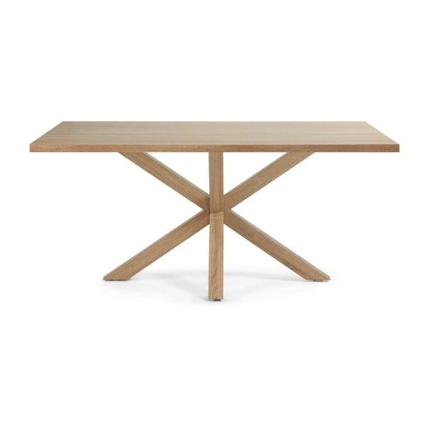 Stół do jadalni Arya, 180x100cm, drewniane nogi