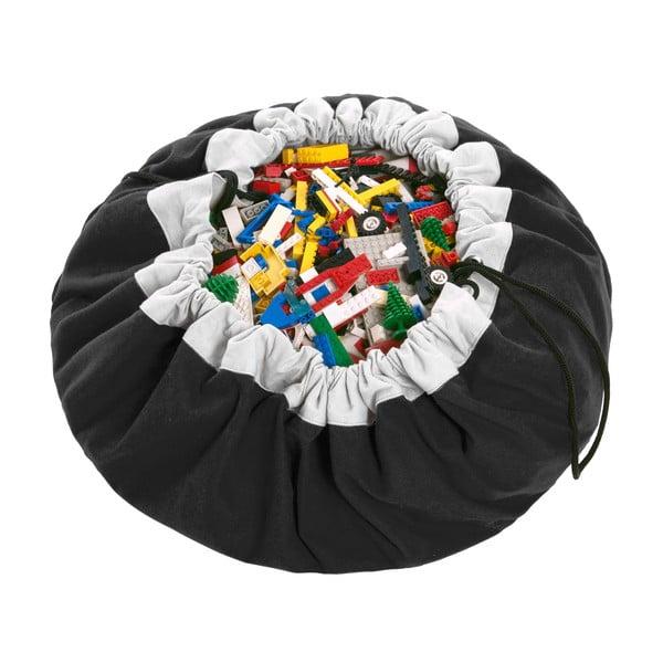Mata do zabawy i worek na zabawki w jednym Play & Go Classic Black