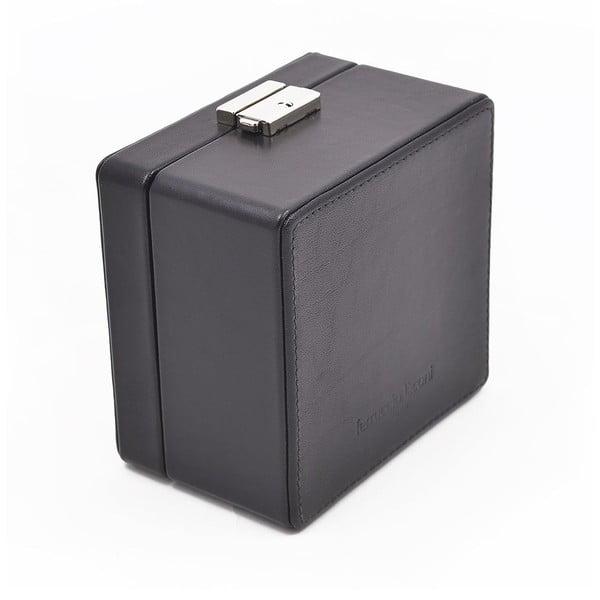 Skórzane puzdro na zegarek Ferruccio Laconi Black