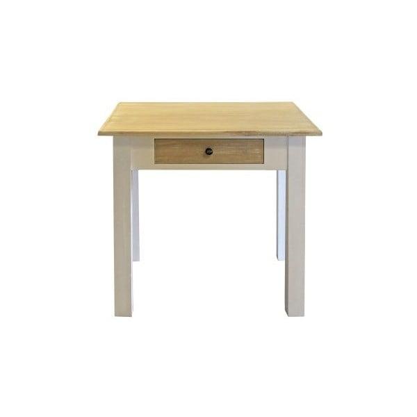Stół jadalniany Charlston White, 80x80x78 cm