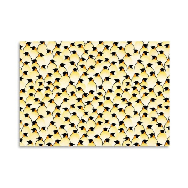 Plakat Penguins, 30x42 cm