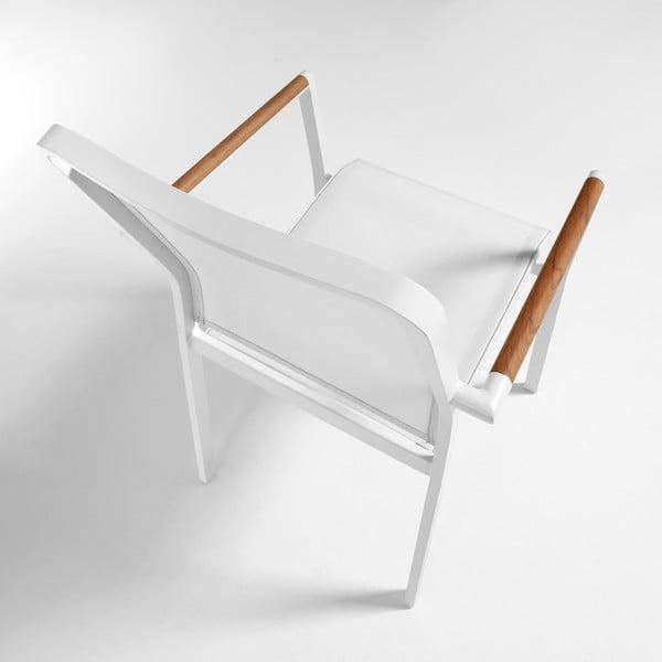 Fotel do użytku zewnętrznego Renna White