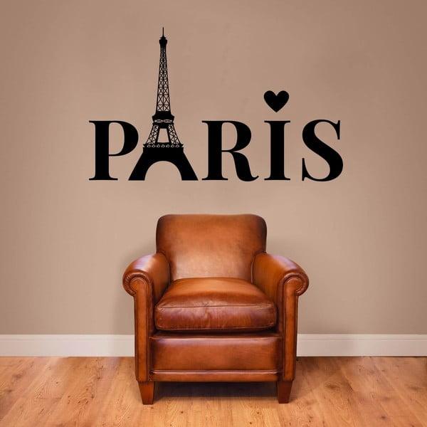 Naklejka ścienna Paris Lettering
