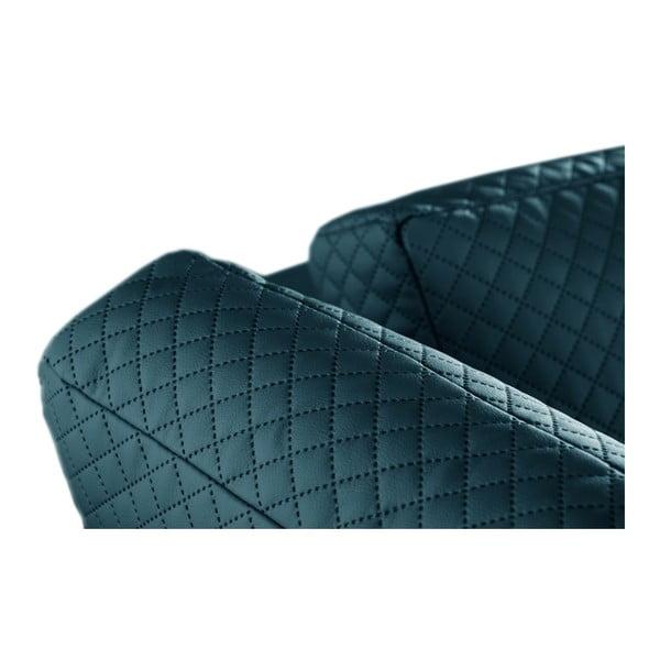 Narożnik Florenzzi Einaudi Turquoise, lewostronny