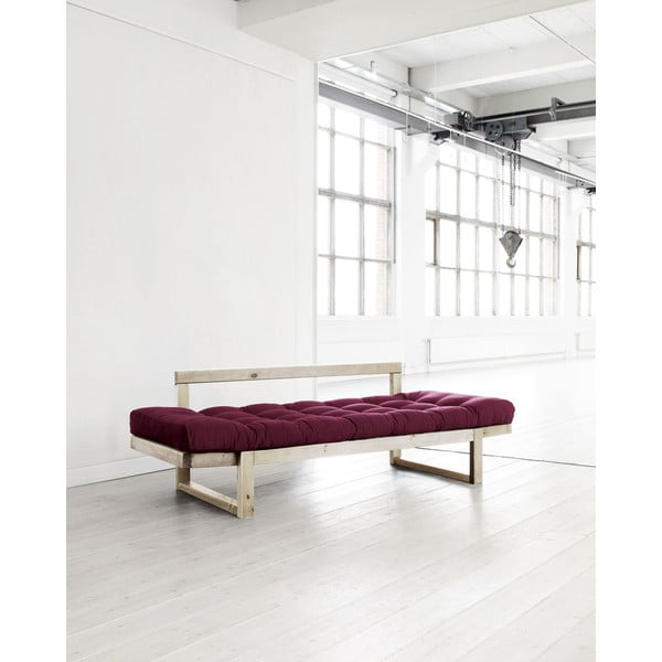 Sofa Karup Edge Natural/Bordeaux