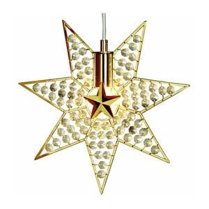 Wisząca gwiazda świecąca Best Season Gyling, 30 cm