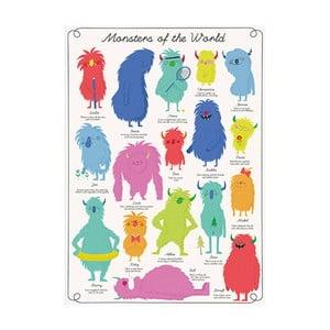Papier na prezenty Rex London Monsters Of The World