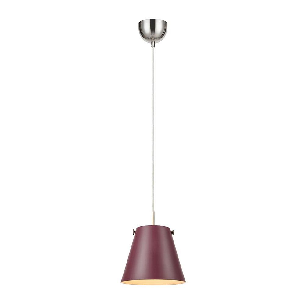 Czerwona lampa wisząca Markslöjd Tribe, ø30cm