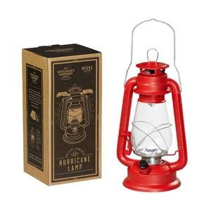 Czerwona lampa naftowa Gentlemen's Hardware Hurrricane Lamp