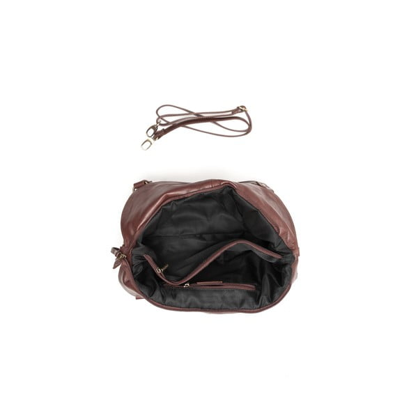Skórzana torebka Classy 2114 Marrone