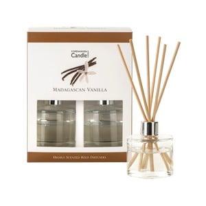 Zestaw 2 dyfuzorów zapachowych o zapachu wanilii Copenhagen Candles Madagascan, 40 ml