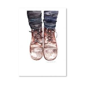Plakat Dusty Boots, 30x42 cm
