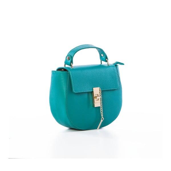Skórzana torebka Grana Dollaro Turquoise