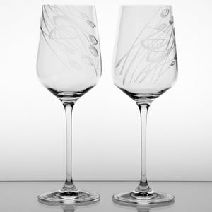 Zestaw 2 kieliszków do czerwonego wina Czarnuszka