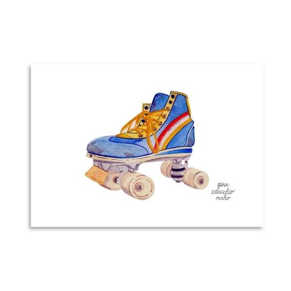 Autorski plakat Roller Skate, 30x42 m