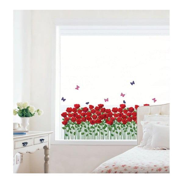 Naklejka Red Roses Garden