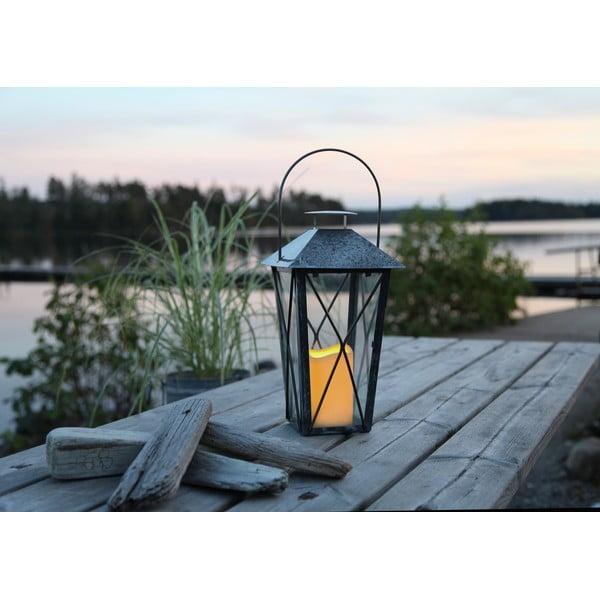 Lampion LED Nadia, ocynkowany