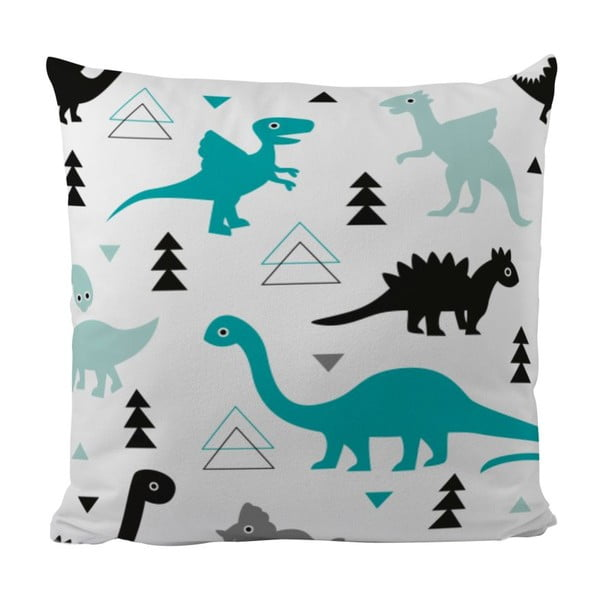 Poduszka Cute Dinosaurus, 50x50 cm