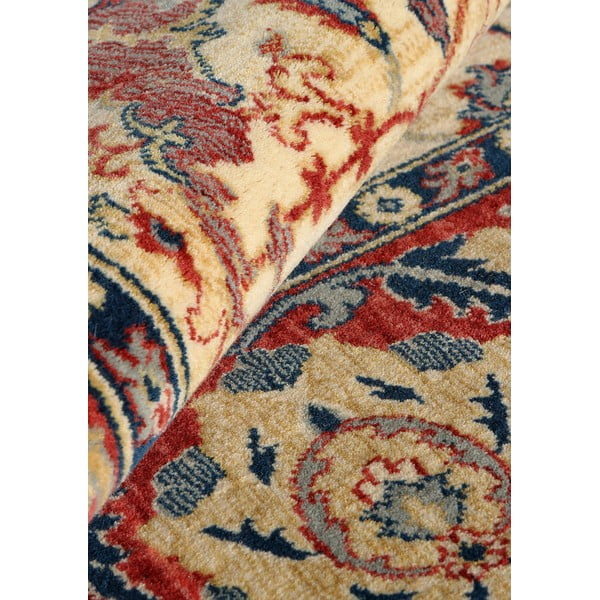 Dywan wełniany Ibai, 60x120 cm, beżowy