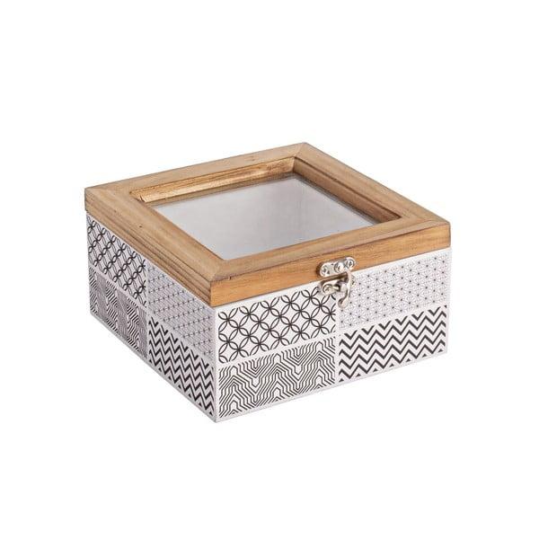 Pudełko z zamknięciem Andrea, 16x15 cm